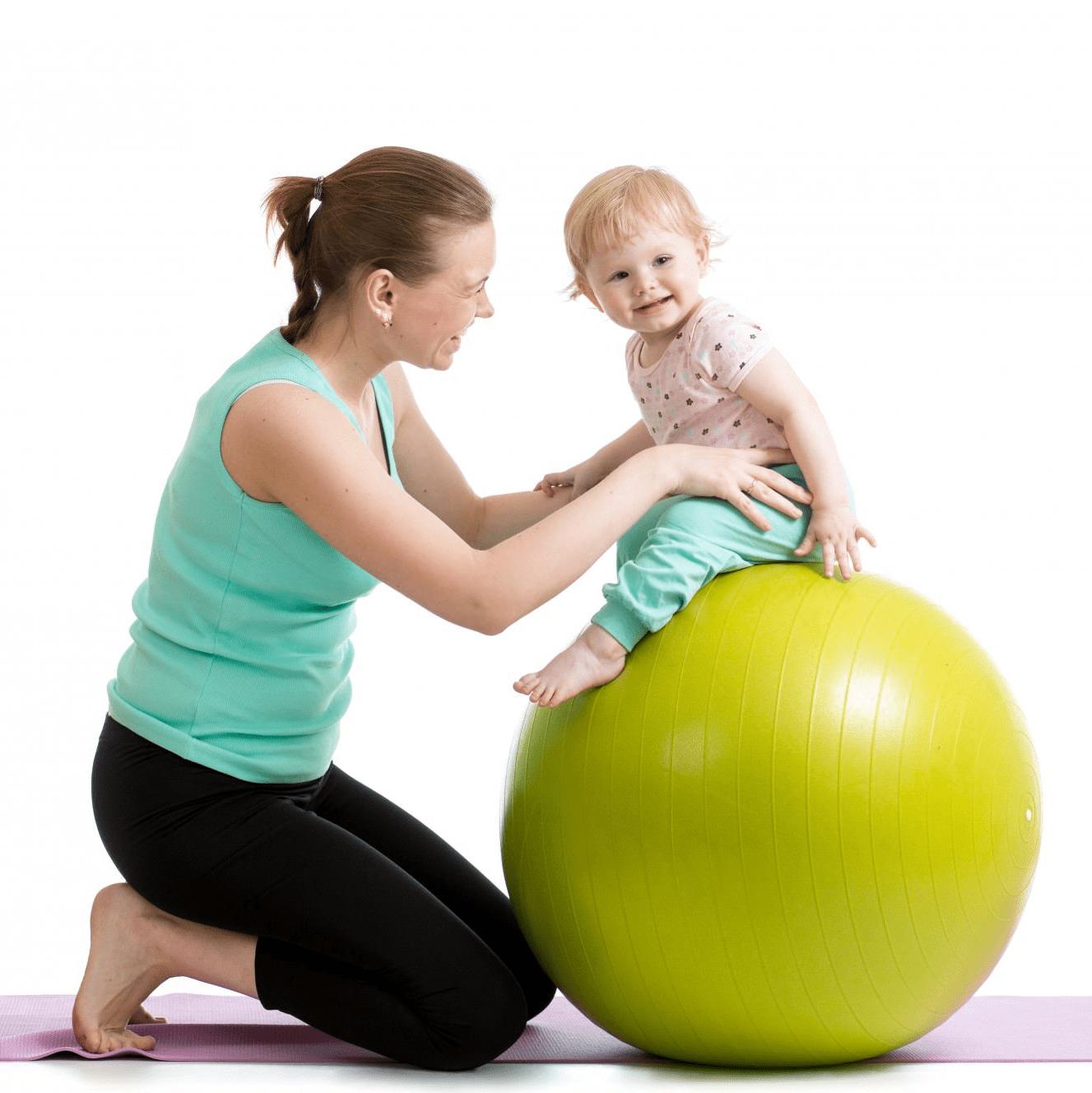 ginnastica per mamme e bambini